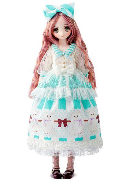 【預購】Hobby Japan 尾櫃制服計畫 八重坂しの Cotton Candy Mint 可動人偶(2021年07月)