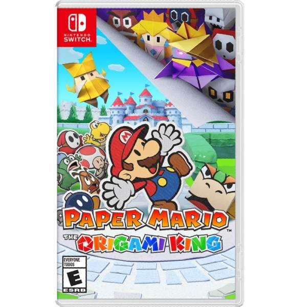 【廠商現貨】Nintendo 任天堂Switch 遊戲 紙片瑪利歐:摺紙國王(中文版) ※廠商代出貨 哆奇玩具,哆奇,switch,任天堂
