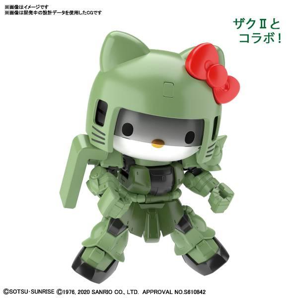 【預購】BANDAI SDCS Hello Kitty 凱蒂貓 薩克II 組裝模型(2020年12月)