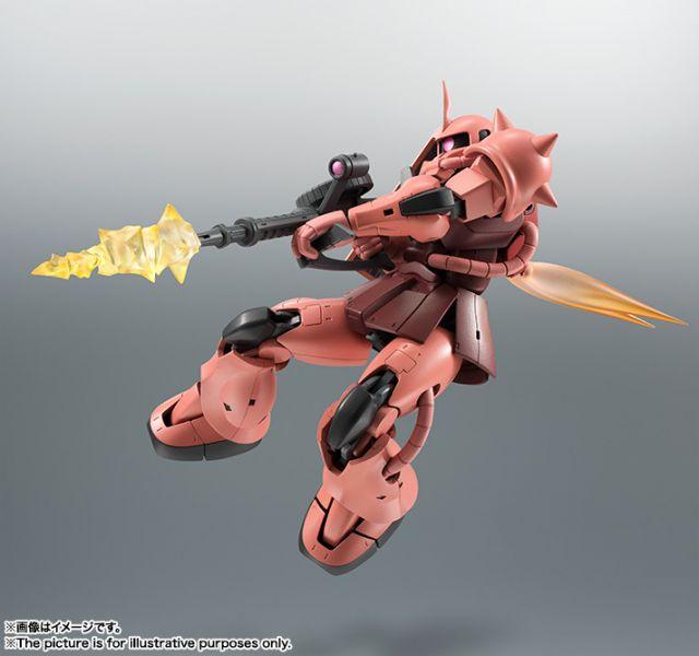 【預購】BANDAI ROBOT魂 <SIDE MS> MS-06S 夏亞專用薩克II ver. A.N.I.M.E. 再販(2020年07月)