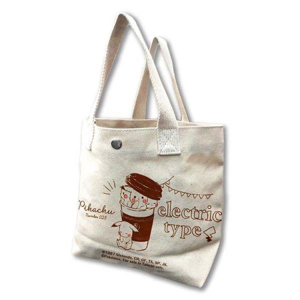 【廠商現貨】曼迪 精靈寶可夢-帆布小提袋-外袋杯PIKACHU 周邊 【廠商現貨】曼迪 精靈寶可夢-帆布小提袋-外袋杯PIKACHU 周邊|哆奇玩具