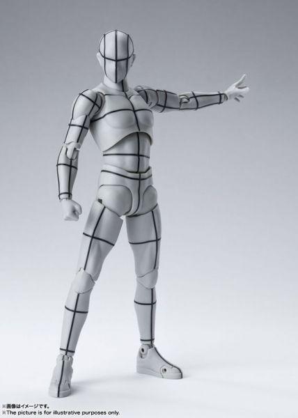 【預購】BANDAI S.H.Figuarts 男性素體-線框- Gray Color Ver. 可動模型(2021年04月) 【預購】BANDAI S.H.Figuarts 男性素體-線框- Gray Color Ver. 可動模型(2021年04月)|哆奇玩具