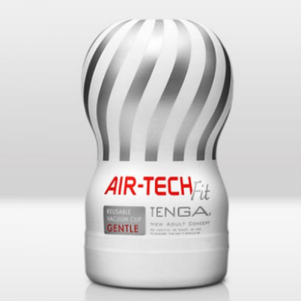 【R18現貨】TENGA AIR-TECH FIT 真空深喉 自慰杯(柔軟版/白)【重覆使用】 情趣用品 飛機杯 自慰 情趣用品