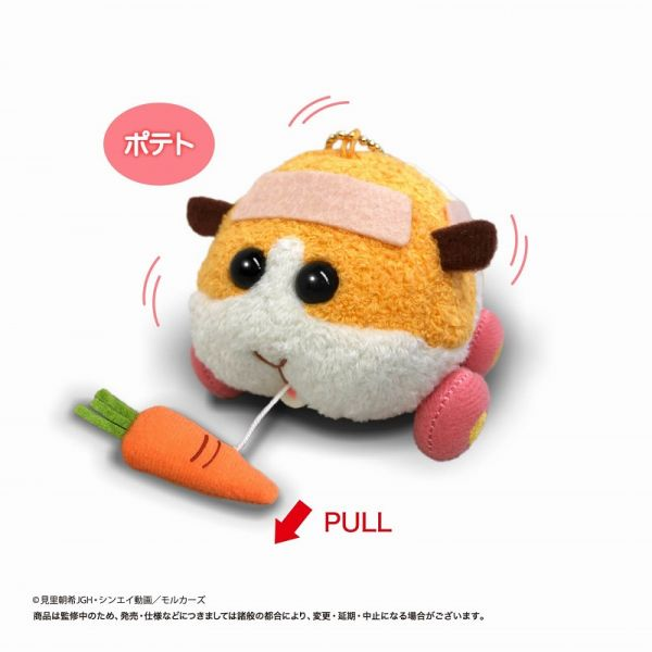 【預購】EIKOH PUI PUI 天竺鼠車車 震動玩偶 馬鈴薯 周邊(2021年06月)