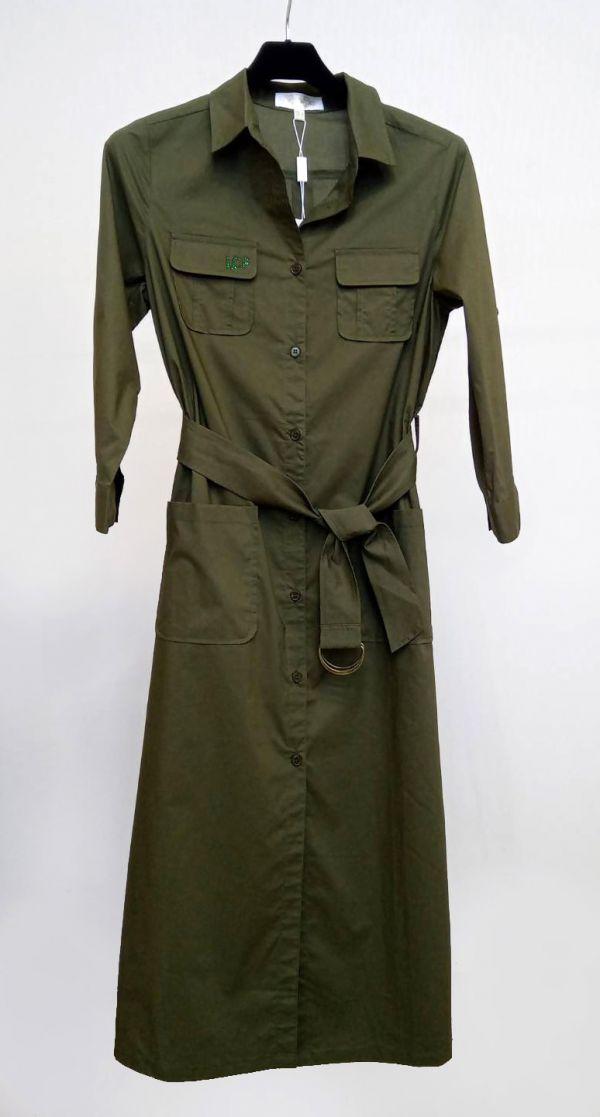 長版襯衫式外套