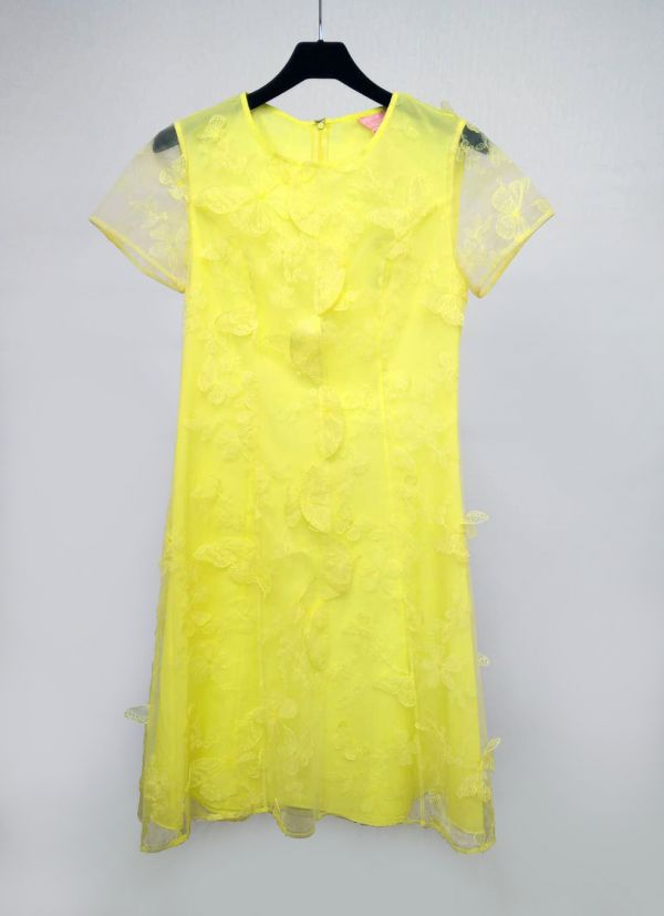 優雅立體蝴蝶洋裝