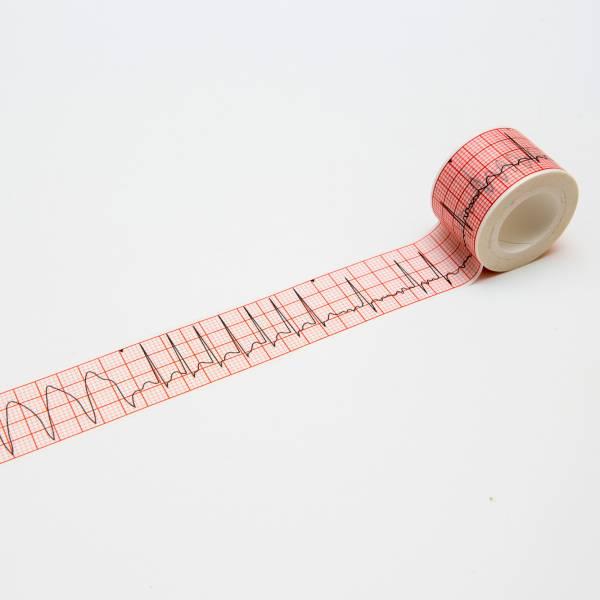 心電圖紙膠帶 (常見異常心律款) 心電圖, 紙膠帶