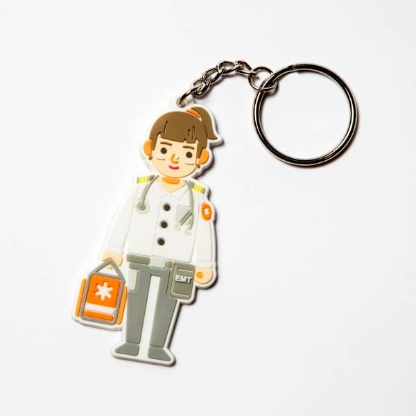 救護員鑰匙圈 救護員, EMT, 鑰匙圈