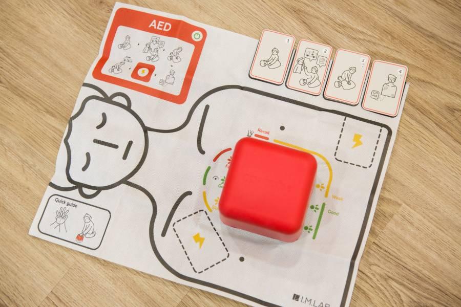 CPRcube Pro CPR, 教具, cube