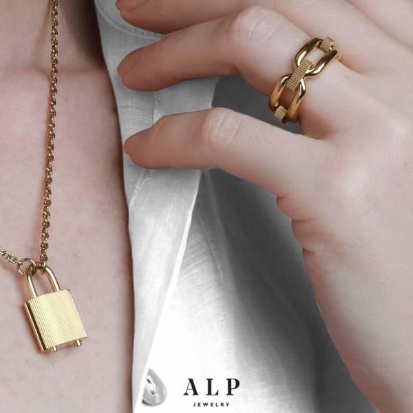 ALP JEWELRY首飾封存系列個性設計師品牌歐美時尚鎖頭鎖骨鏈 ALP JEWELRY首飾封存系列個性設計師品牌歐美時尚鎖頭鎖骨鏈