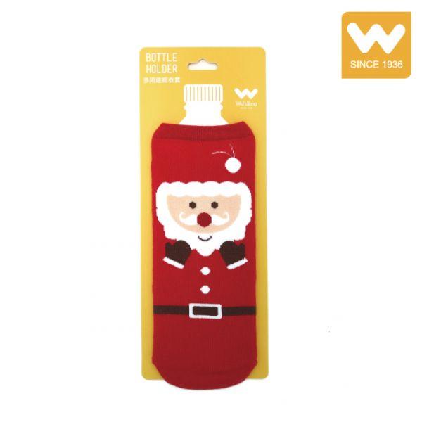 多用途 聖誕老人 水瓶套 瓶衣套 水壺套 吳福洋,水瓶套,瓶衣套,水壺套