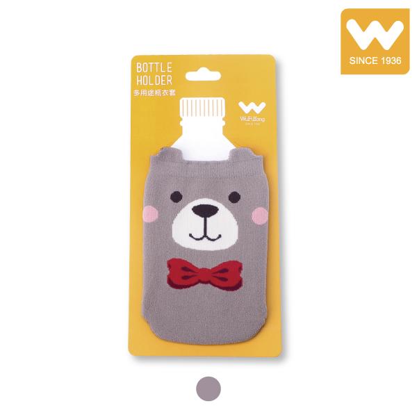 短版 多用途 棕熊 水瓶套 瓶衣套 水壺套 吳福洋,水瓶套,瓶衣套,水壺套