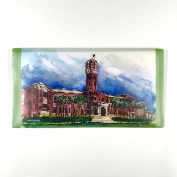 Presidential Office Building Wallet Folder - Water Painting