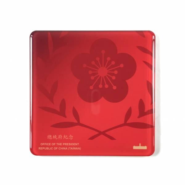 府徽磁性杯墊(紅色)