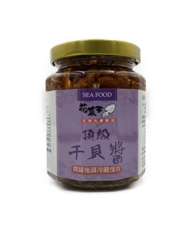 澎湖直送_頂級干貝醬/大辣285g