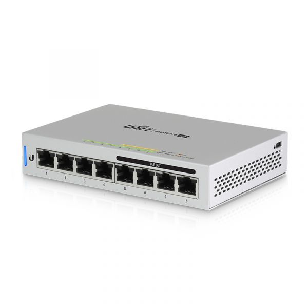 UniFi Switch 8-60W (8 Port 60W PoE交換器)