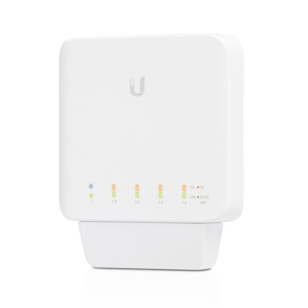 UniFi Switch Flex (簡易型5 Port PoE交換器)