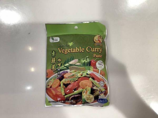 素蔬菜咖哩即煮醬