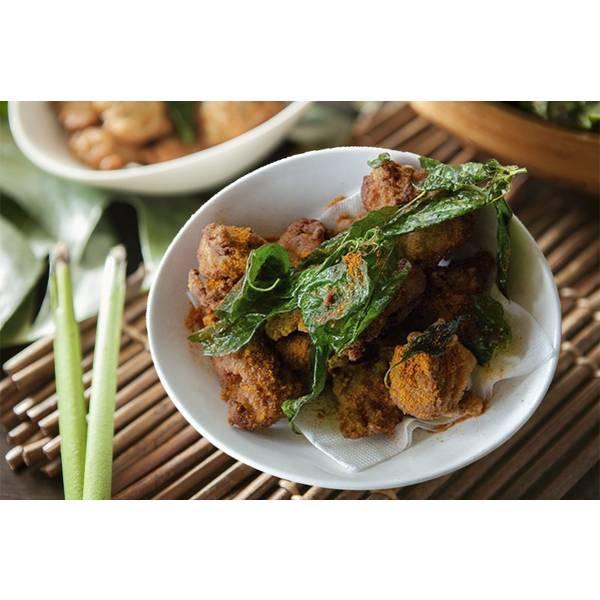 熱浪K.F.C 非基改大豆纖維素雞塊 素雞塊,素食,蔬食,熱浪島