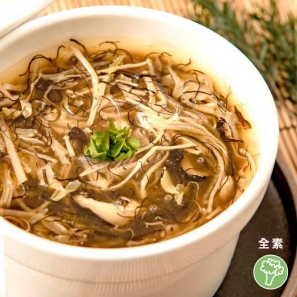 祥和蔬食-髮菜魚翅羹(米其林推薦)