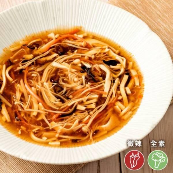 祥和蔬食-祥和酸辣湯(米其林推薦)