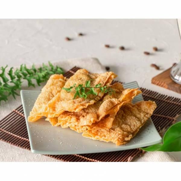 素魚餅(12片/30片) 腐竹皮,魚餅,素食,蔬食,素魚餅