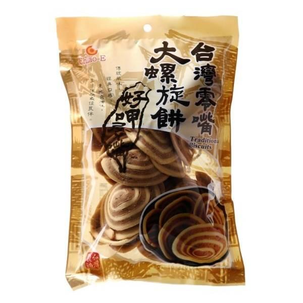 台灣零嘴大螺旋餅