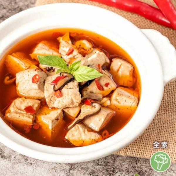 祥和蔬食-麻辣臭豆腐(米其林推薦)