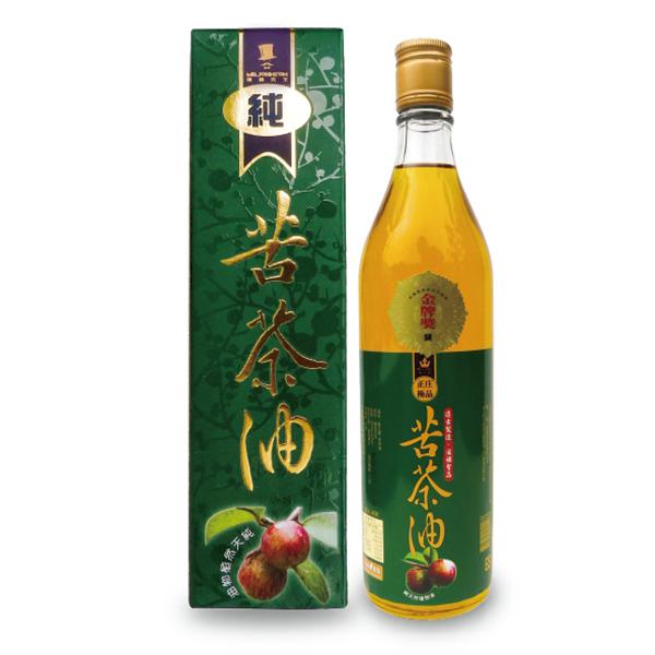 苦茶油-100%冷壓純油