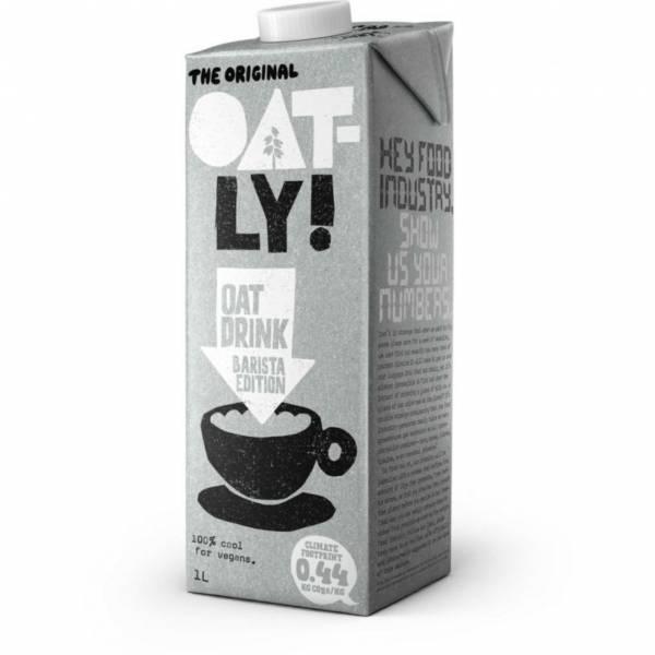 OATLY燕麥奶 燕麥奶,乳糖不耐症,植物奶,OATLY,oatly,咖啡師,巧克力咖啡師,燕麥,素食奶,蔬食奶