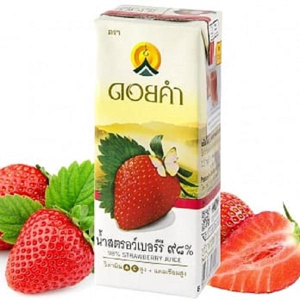 皇家農場天然果汁-草莓