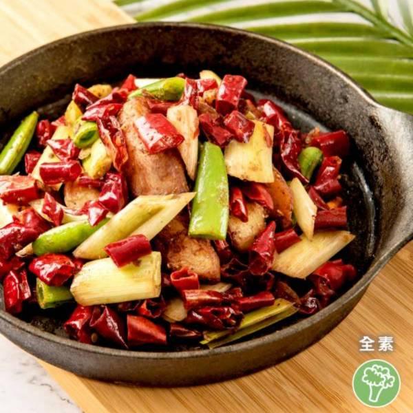 祥和蔬食-干鍋土豆(米其林推薦)