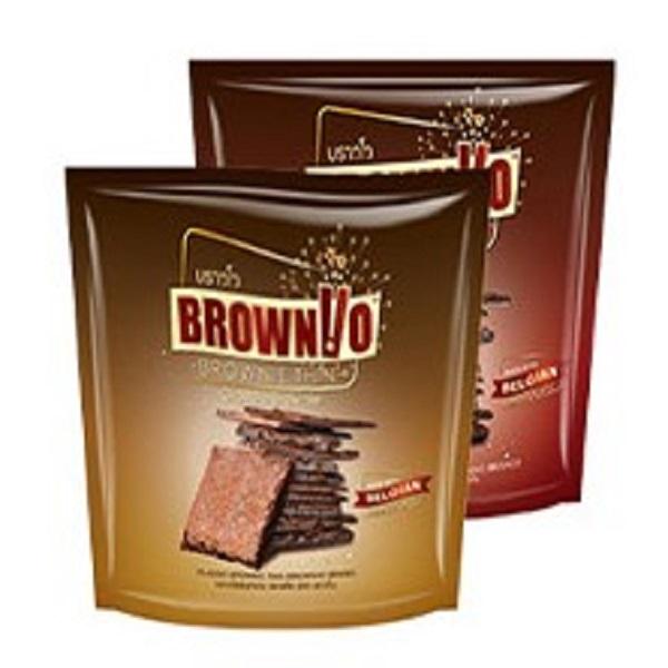 布朗尼-巧克力脆皮