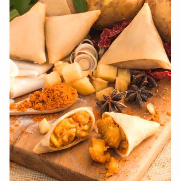 樂達咖哩角(小/大) 咖哩角,素食咖哩角,東南亞小吃,東南亞點心,樂達
