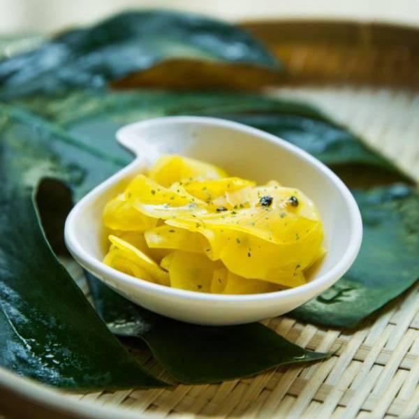 熱浪島-青木瓜 青木瓜,百香果,百香青木瓜,酸甜小菜,百香,木瓜,開胃小菜,開胃菜,開胃小點,開胃品