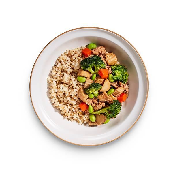 日式野菇醬燒未來牛_藜麥糙米飯