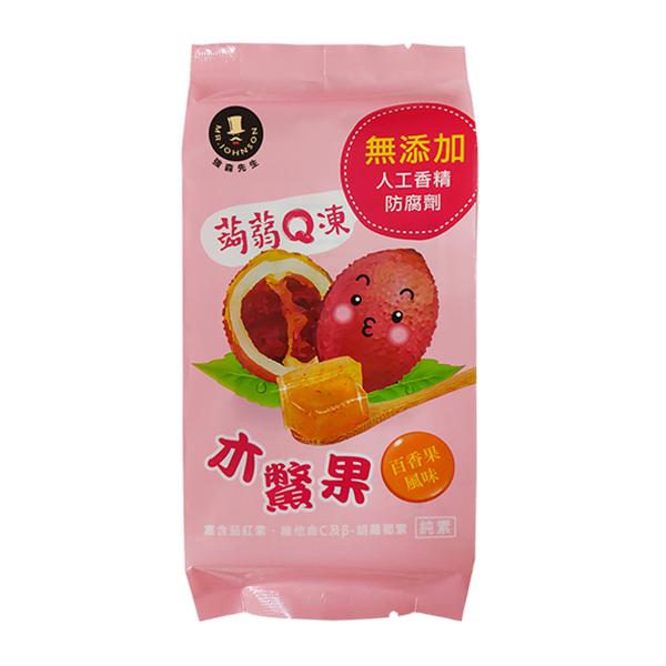 蒟蒻Q凍-木鱉果(百香果口味)