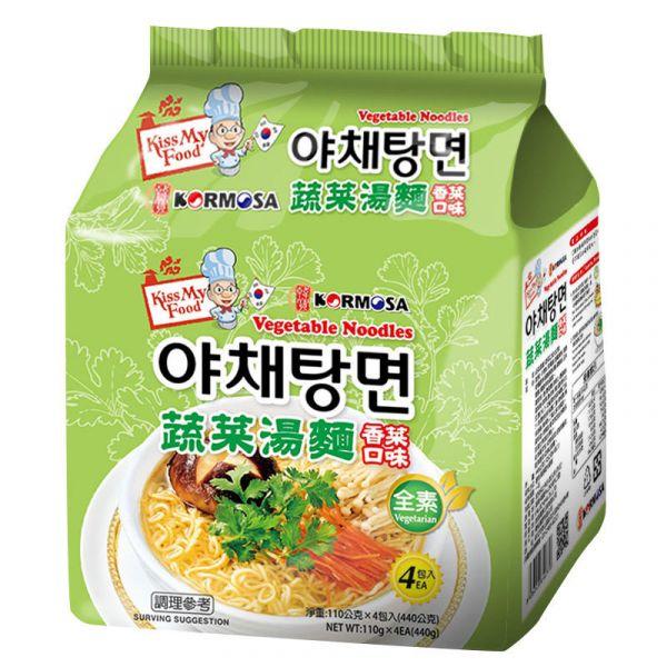 蔬菜湯麵香菜口味
