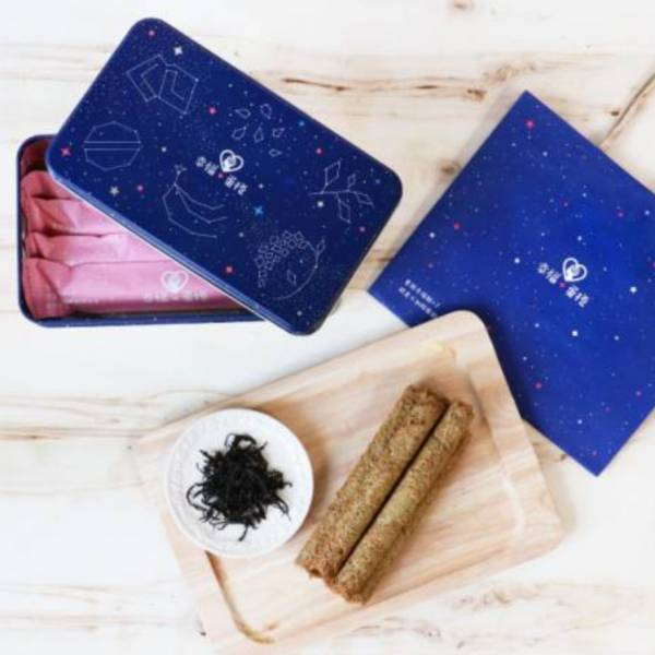 ✦ 星空✦ 幸福+蛋捲鐵盒(在地小農系列-阿薩姆紅茶)