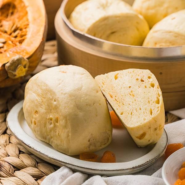 南瓜金桔饅頭(6顆/包) 高雄饅頭