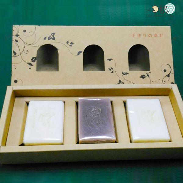 【中秋好禮】手工皂禮盒A組- 3入