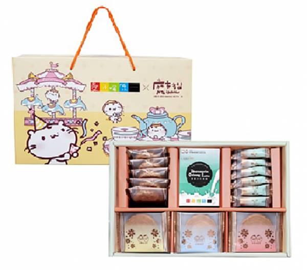 【中秋好禮】甜心樂園 皇家午茶禮盒-麻吉貓聯名版