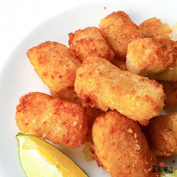 香酥一口魠 300g±10% 香酥一口魠,調理食品,酥炸食品,魚肉點心,台南海鮮,海鮮宅配,