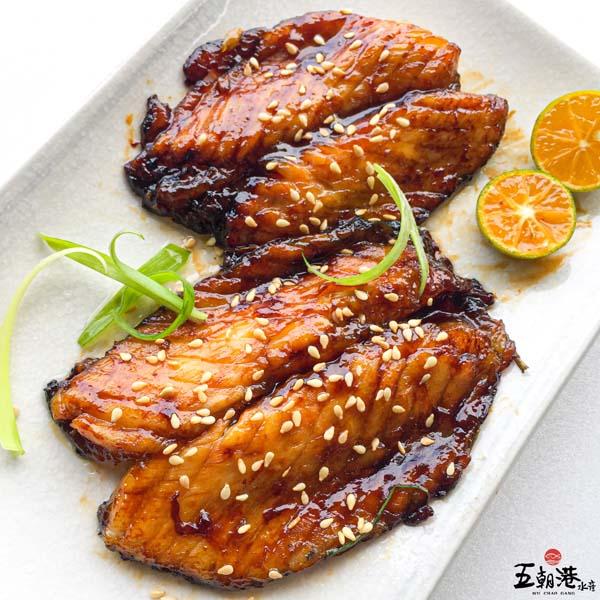 肥美綿密蒲燒鯛魚腹2片組 150g±5% 蒲燒,台灣鯛魚,蒲燒鯛魚,魚腹,台南永康,海鮮宅配,即時,