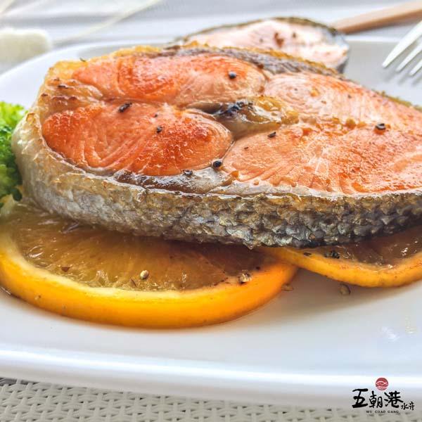 大西洋小鮭魚2片組 200g±5% 鮭魚,大西洋鮭魚,小鮭魚,海鮮團購,魚貨批發,水產批發,五朝港,海鮮宅配,