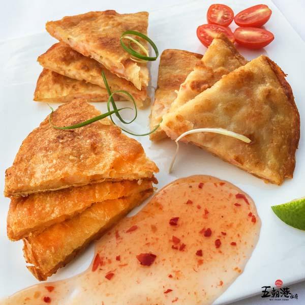 蝦爆了月亮蝦餅/整隻蝦仁/240G±10%/片 月亮蝦餅 滿滿蝦仁 泰式料理 蝦 點心 泰國 美食
