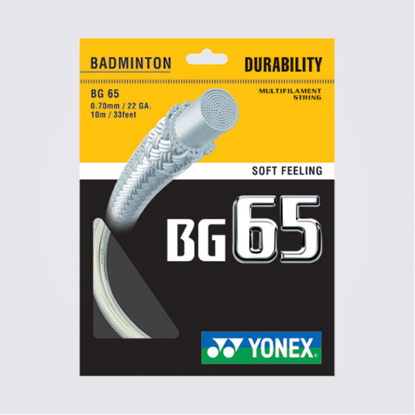 YONEX BG65 羽球線