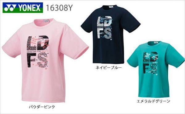 零碼出清 YONEX 16308Y 受注會限定T恤 (女) YONEX,16308Y,零碼出清