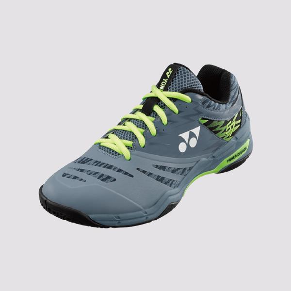 YONEX POWER CUSHION 57 男女羽球鞋(灰/綠) YONEX,57EX,羽球鞋,男女款