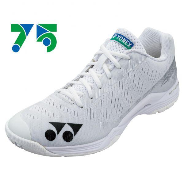 YONEX POWER CUSHION AERUS Z L 女羽球鞋(白)(75週年) YONEX,AZL,羽球鞋,女款